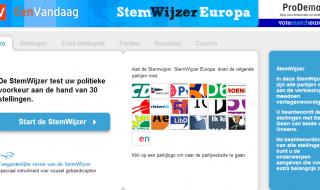 Kieshulpen Europa online: wie is uw stemadviseur?